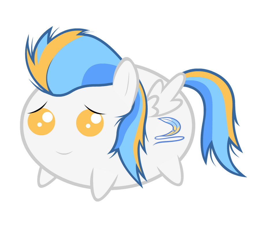 A Blu Skittle OC Chubbie Vector by ABluSkittle
