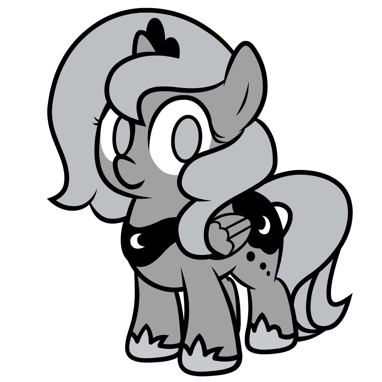 Princess Woona Vector From Moonstuck by ABluSkittle
