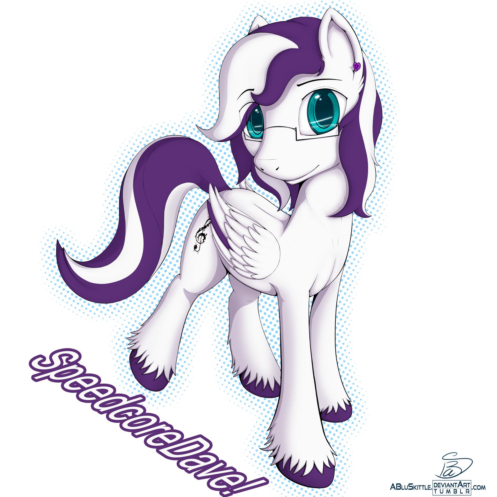 SpeedcoreDave! (Commission) by ABluSkittle