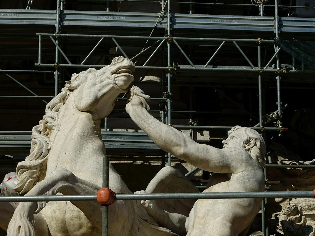 Scaffold Struggle by WestLothian
