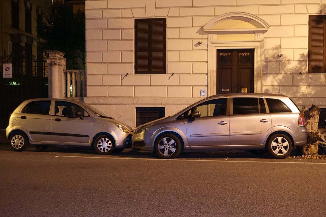Tight Spot - Roman Parking by WestLothian