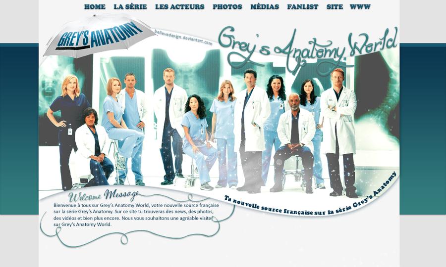 Layout Grey\'s Anatomy by believedesign on DeviantArt