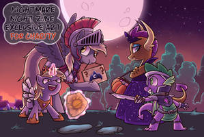 [Nightmare Night Zine] Avast or Treat! by NessaCity