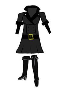 Zoe's military uniform