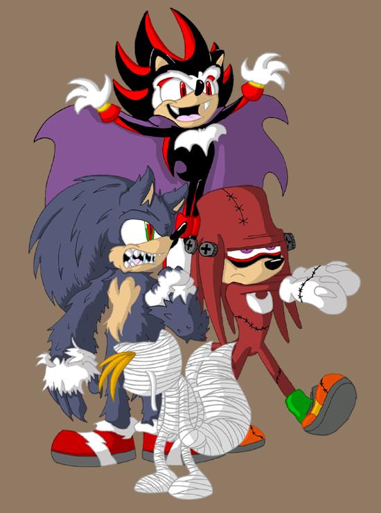 Sonic Monster Mash by Duckboy