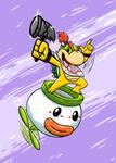 My Smash Bros main, Bowser Jr