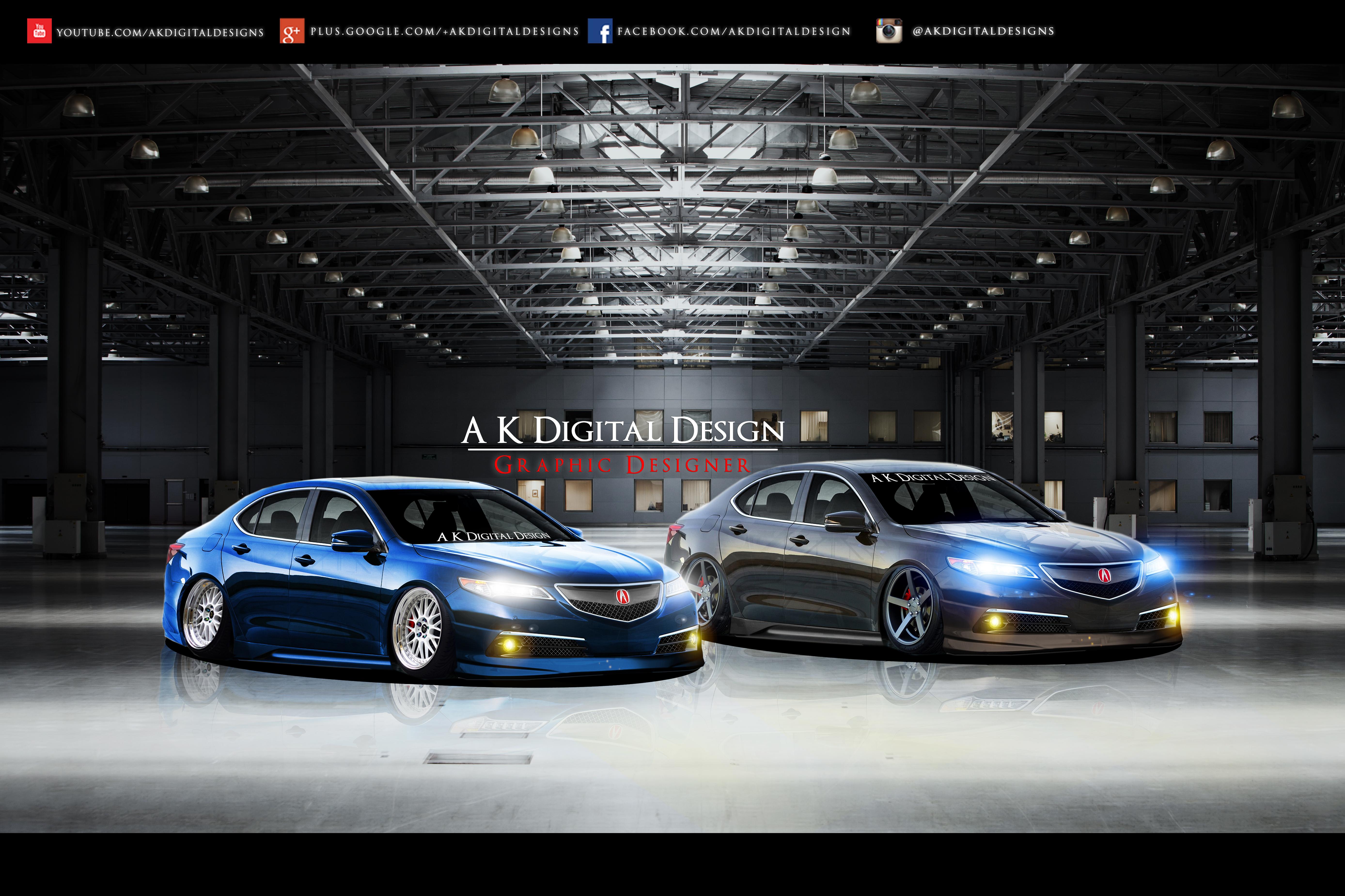 Acura TLX Wallpaper by akdigitaldesigns on DeviantArt