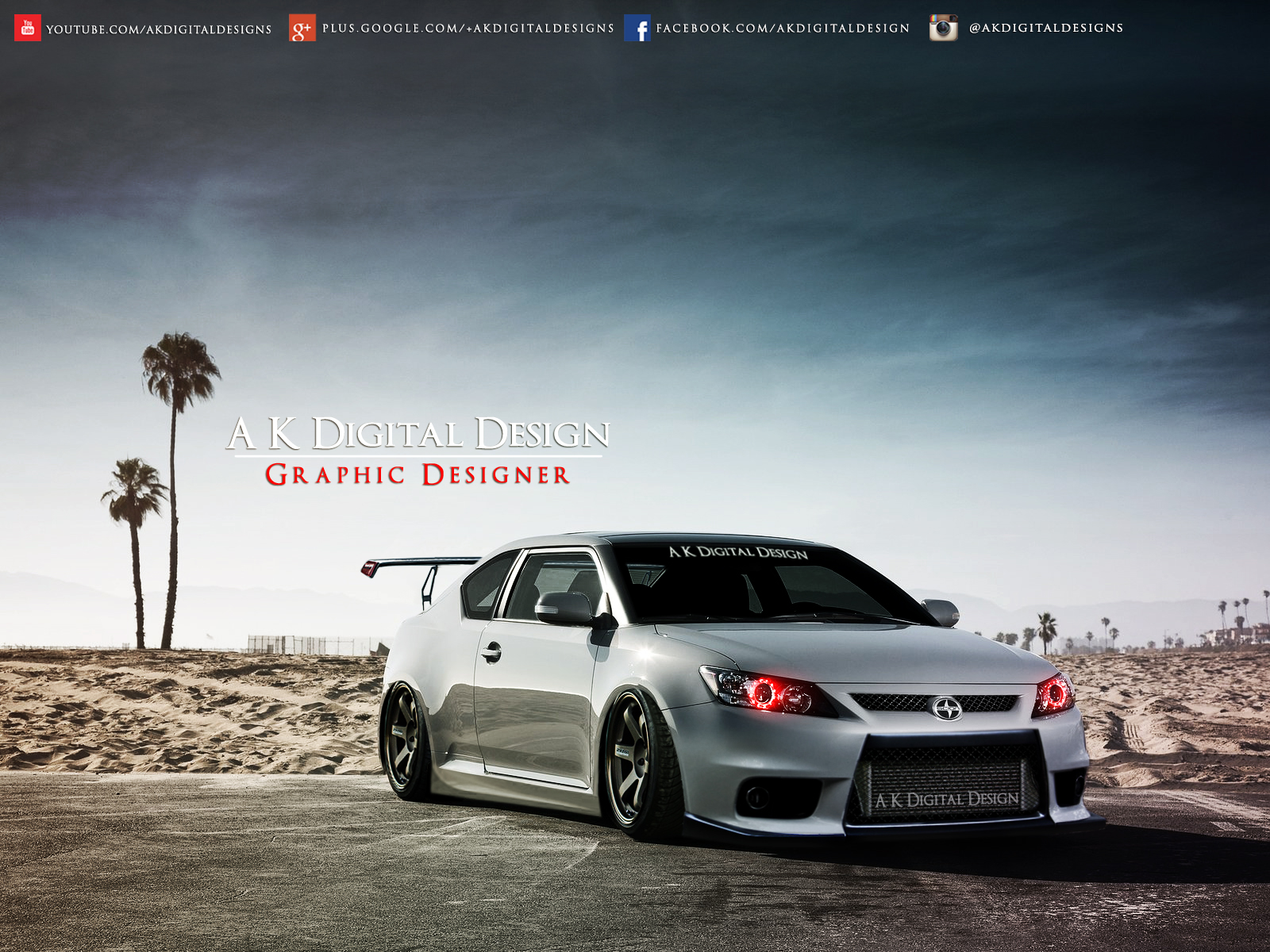 Scion Tc 2014 Tuning >> Scion tC 2012 Modified by akdigitaldesigns on DeviantArt