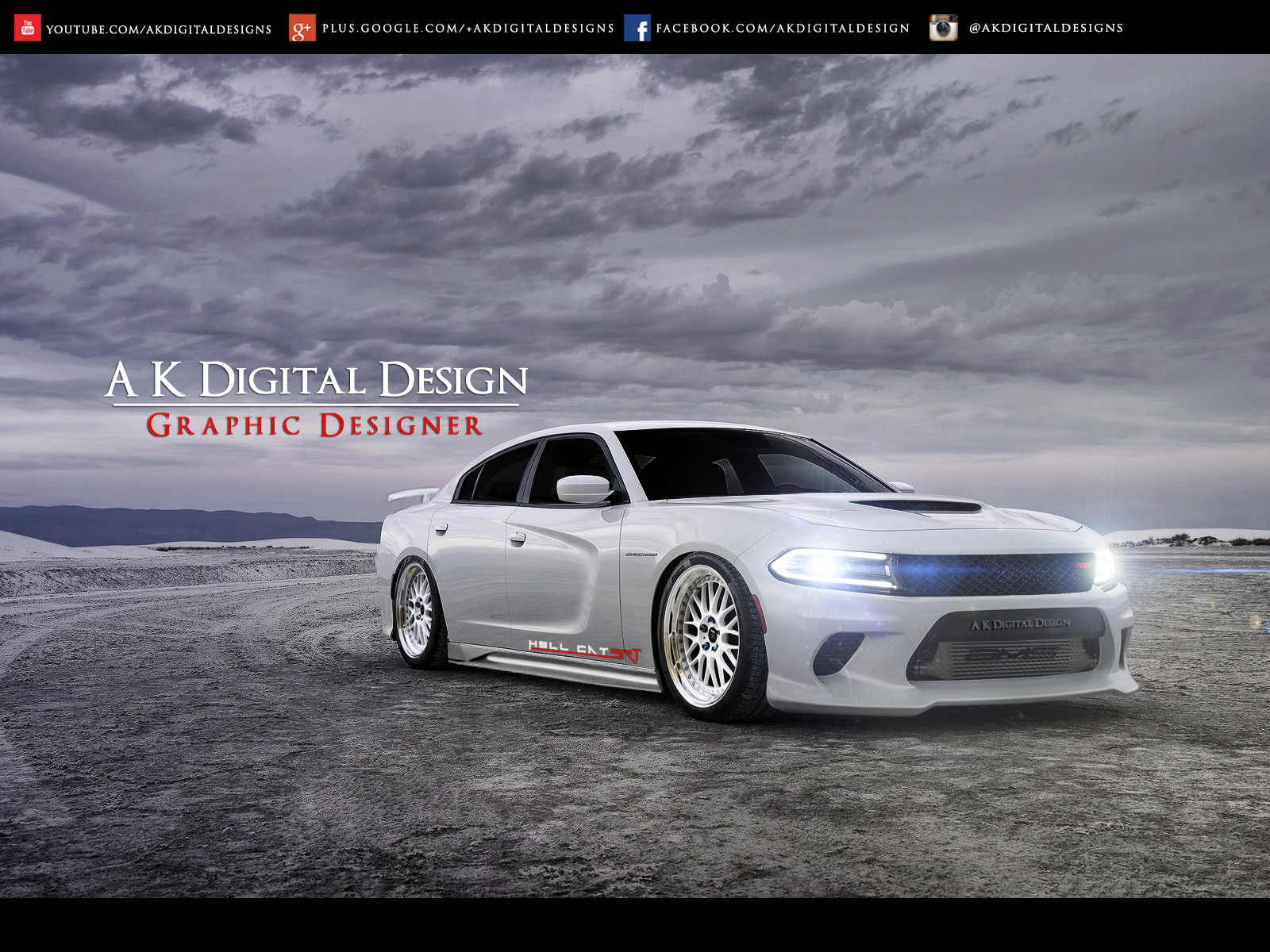 2015 Dodge Charger Srt Hellcat Modified By Akdigitaldesigns On
