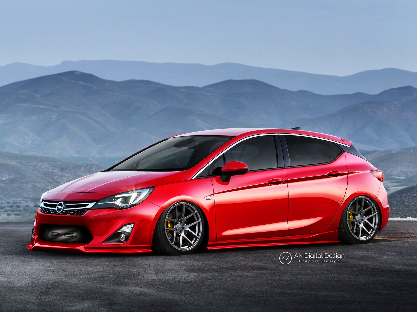 Opel Astra Modified By