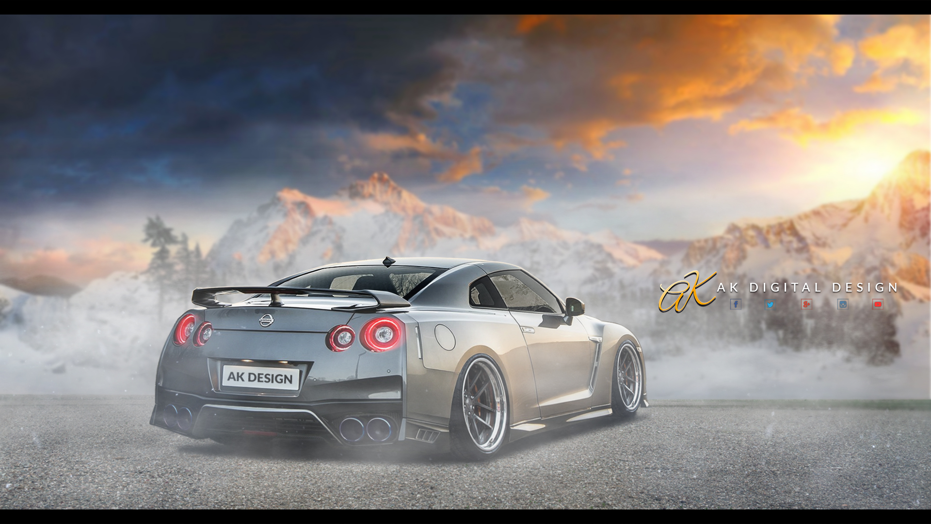 2017 Nissan Gtr Rendering By Akdigitaldesigns On Deviantart