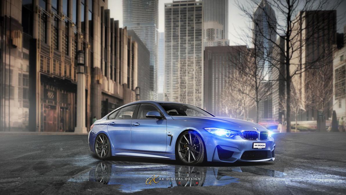 BMW M4 Gran Coupe Rendering by akdigitaldesigns