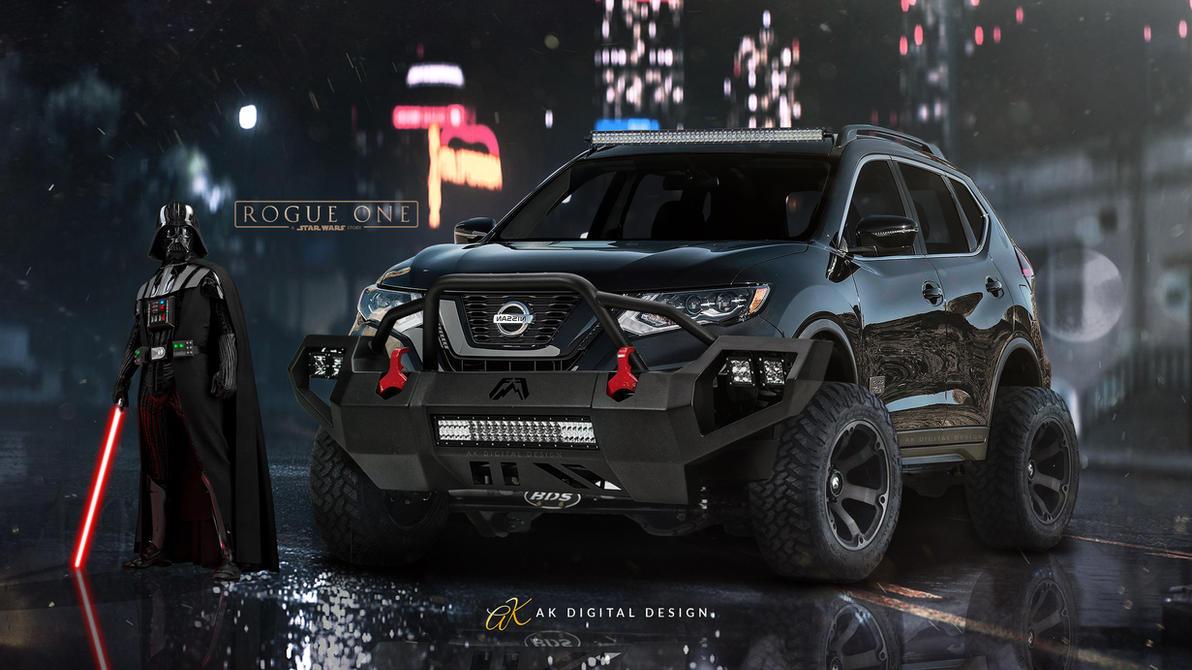 Lifted Nissan Rogue One Star Wars Edition by akdigitaldesigns