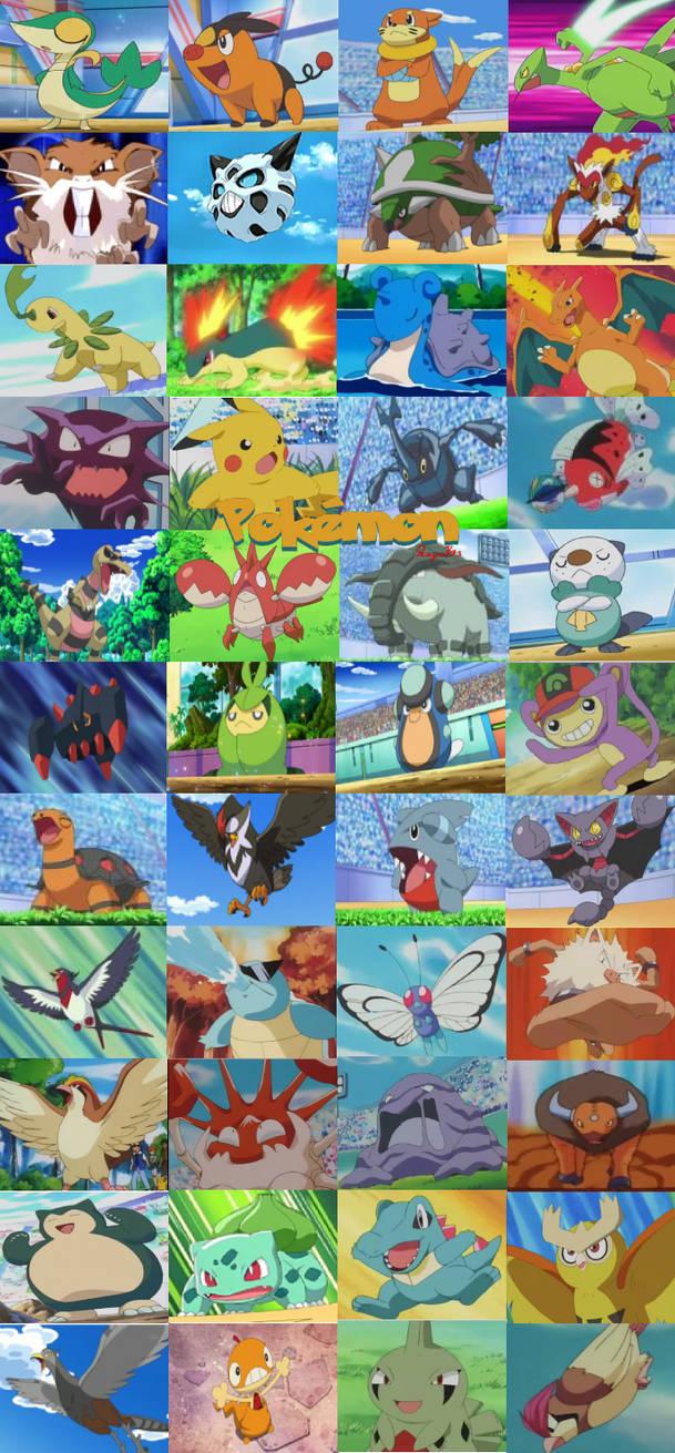 Pokemon Collagewallpaper By Panzerknacker73 On Deviantart