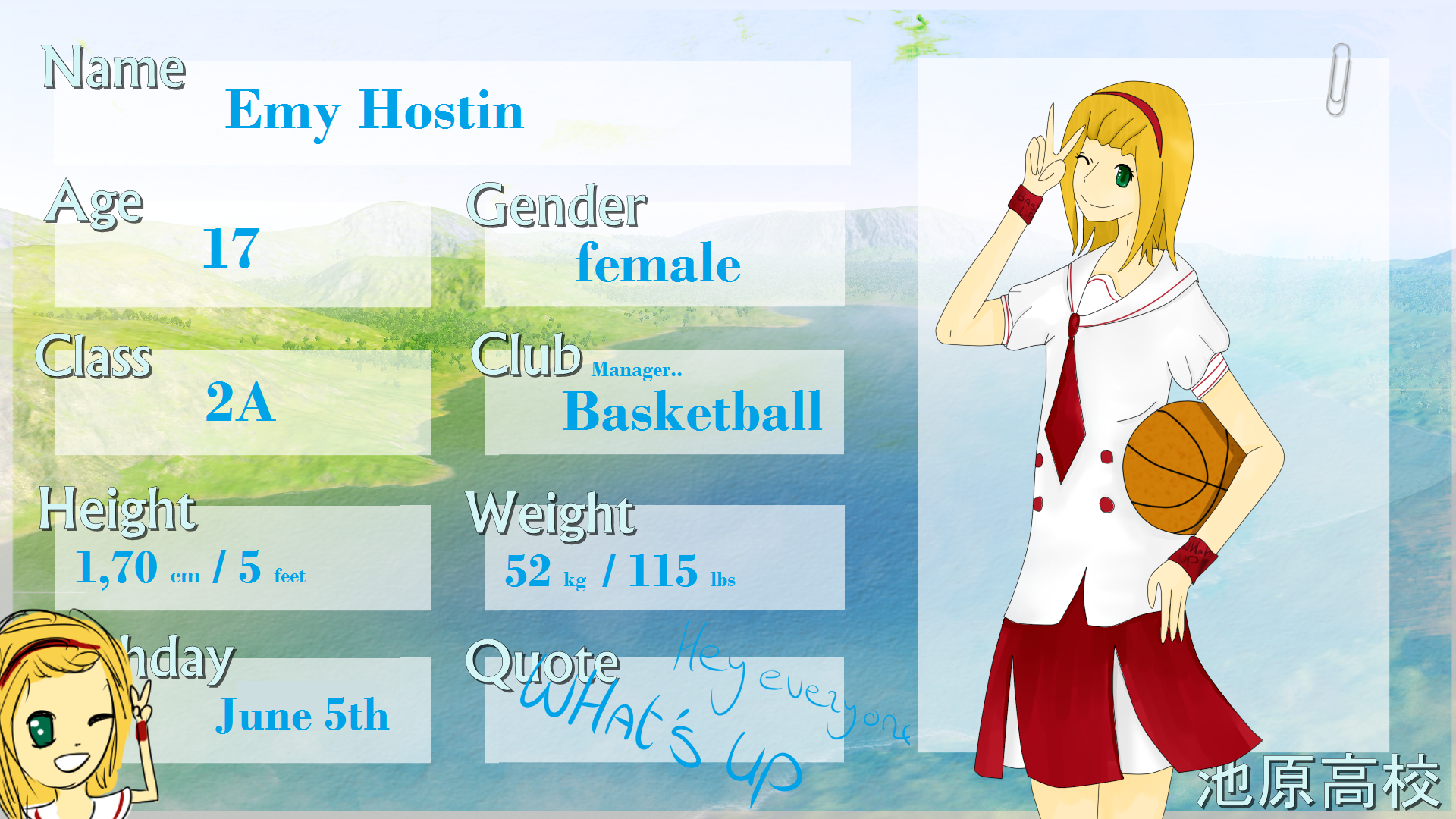 Ikehara-High App, Emy Hostin by mira00000