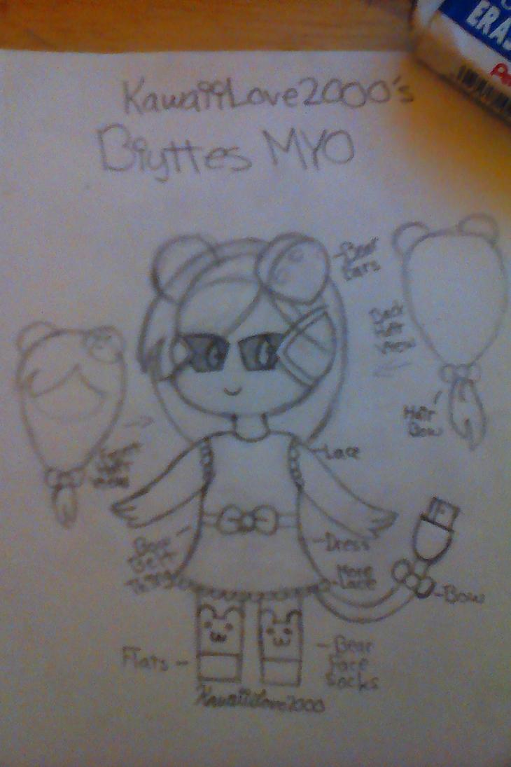 Bears and Bows biyttes myo by KawaiiLove2000