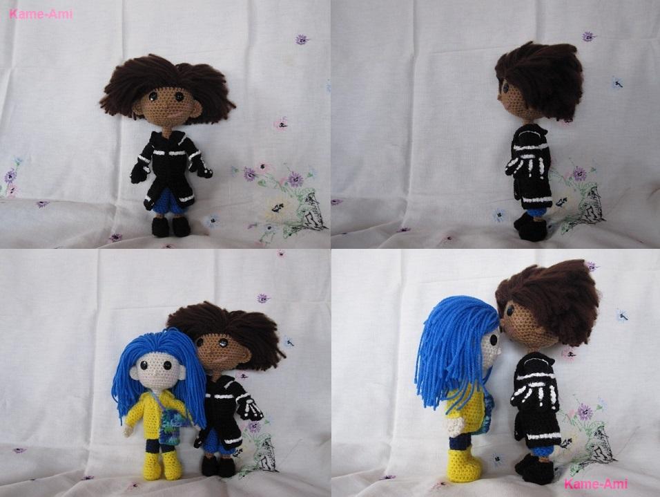 Wybie+Coraline by Kame-ami