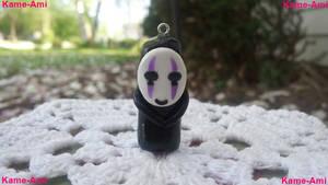 Kaonashi (No Face) Purple Charm
