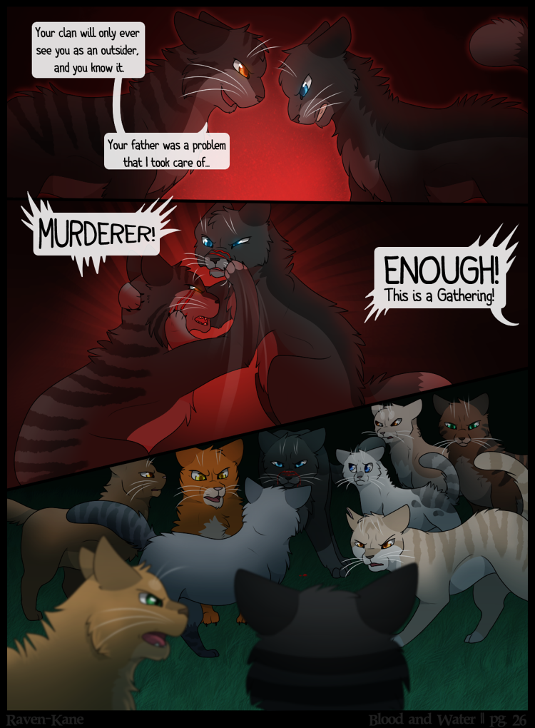 Warriors: Blood and Water - Page 26 by KelpyART