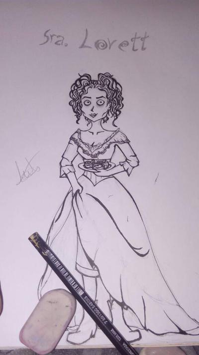 Sra. Lovett - Sweeney Todd  by LizzelBlue
