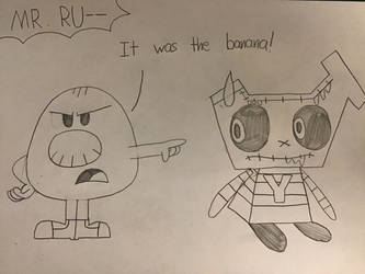 TMMS-MHS: It Was The Banana! by TigeressBird324