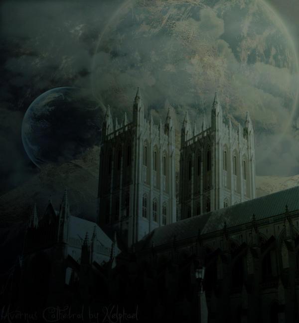 LoK: Avernus Cathedral by Nelphael