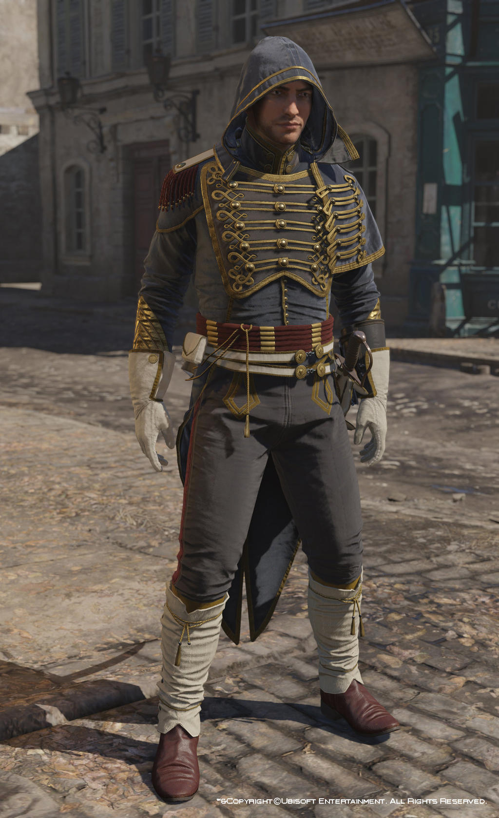 Assassin S Creed Unity Napoleonic Outfit Rank 3 By Mayrt On