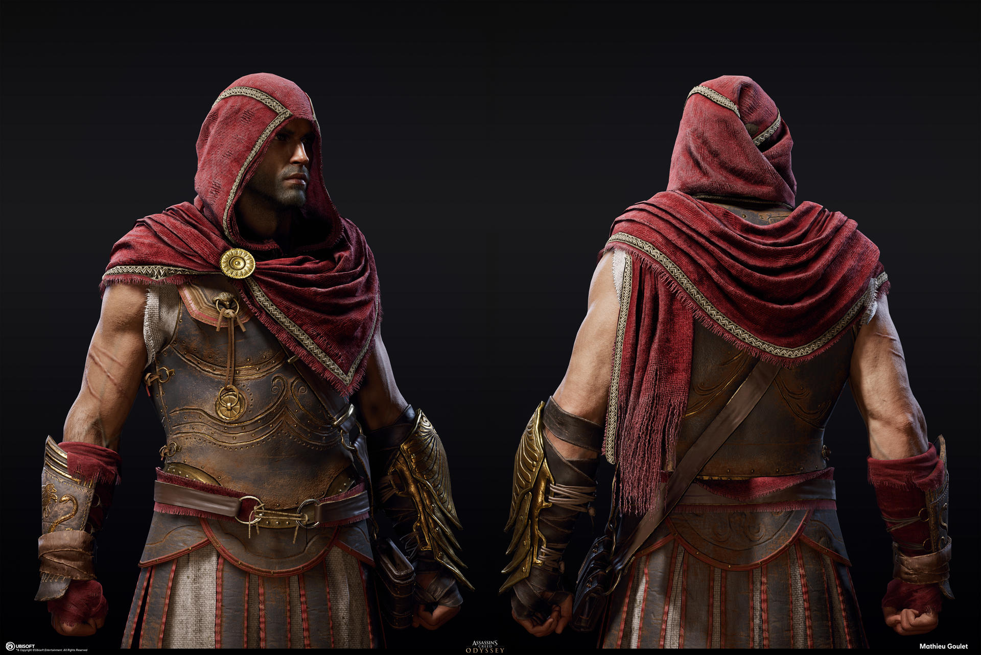 Assassin S Creed Odyssey Alexios Main Outfit 01 By Mayrt On