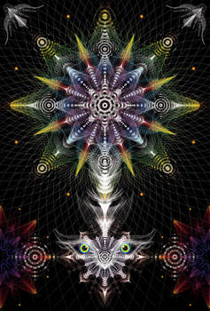 Mandala Gradient01a