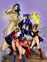 Femforce Assemble by larafan