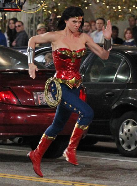 Adrianne as Wonder Woman by larafan