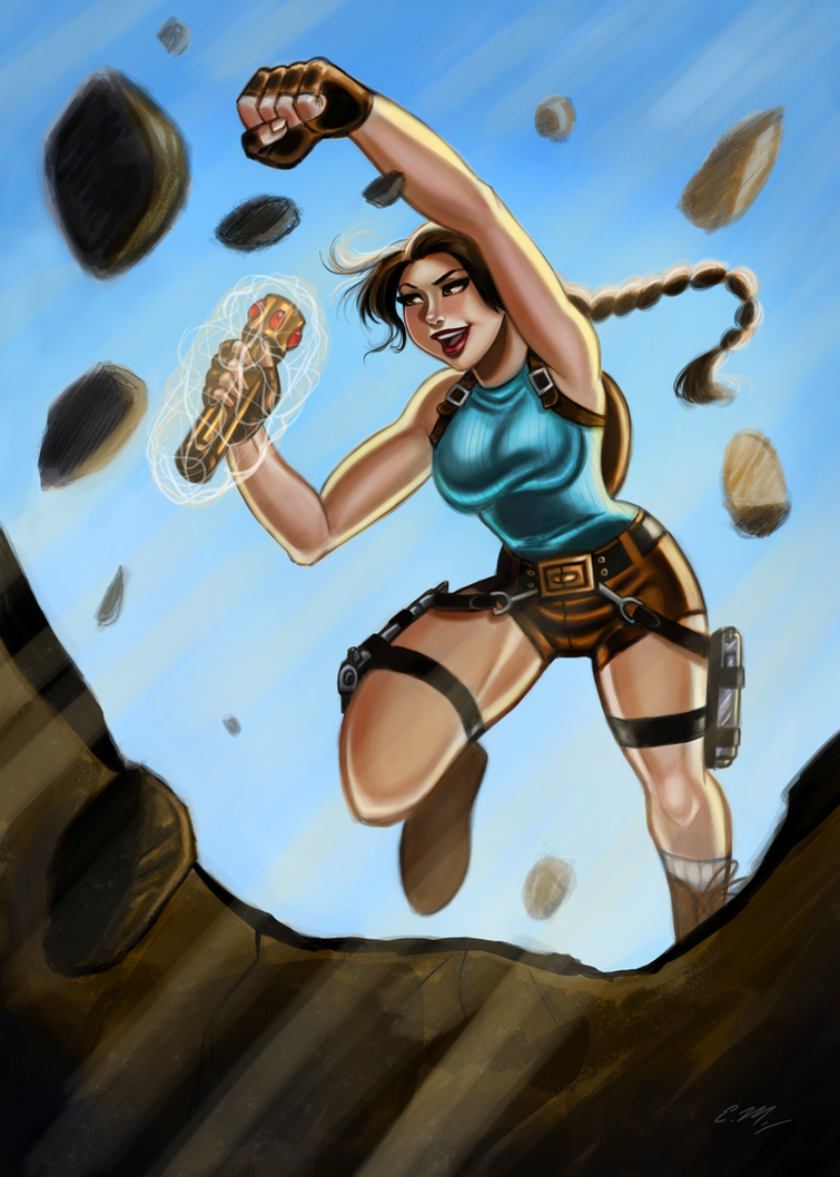 Lara Croft by Eric Matos by larafan