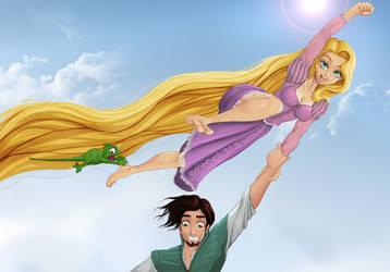Rapunzel by Xplotter by larafan