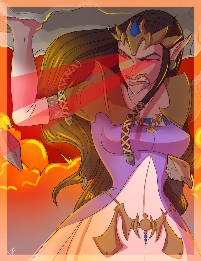 Zelda by VexyFate by larafan