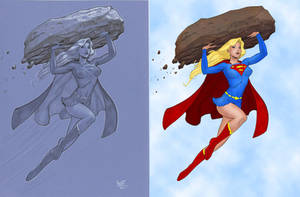 Supergirl by Dooney by larafan