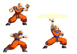 Krillin z2 another concept by Daeron-Red-Fire