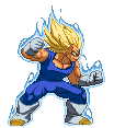 Majin Vegeta z2 by Daeron-Red-Fire