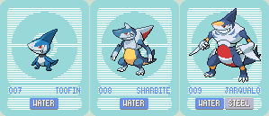 Water starters revamp by Giulio-91