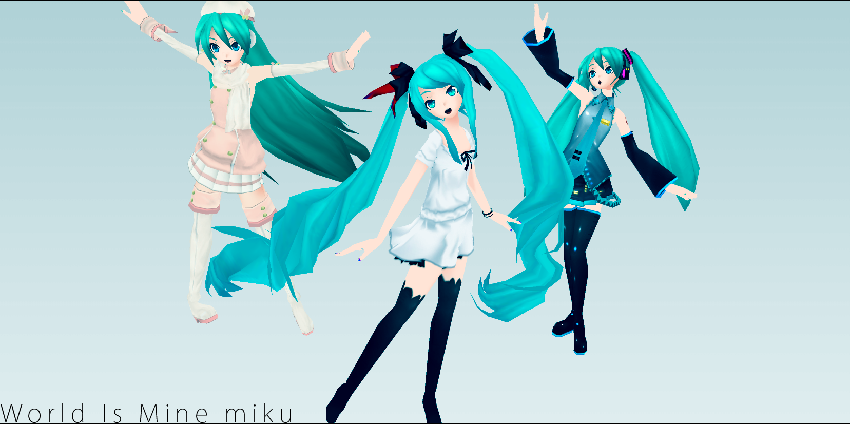 World Is Mine Miku PJD by chatterHEAD