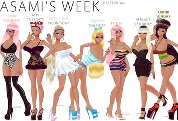 Asamis Week by chatterHEAD