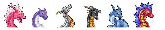 Dragon busts by TheWyvernGuy