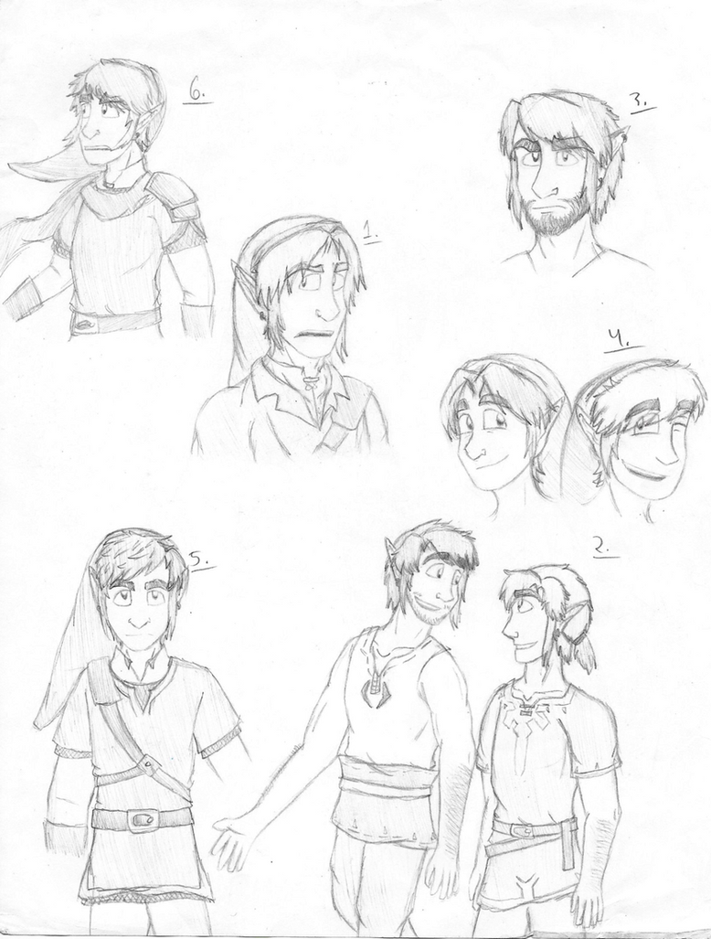 LoZ - Page of Link-Lonks by ItalianAssassin77