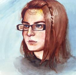 Krys watercolor by intelligencequotient