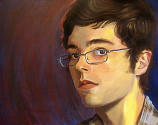 Self portrait, finished by intelligencequotient