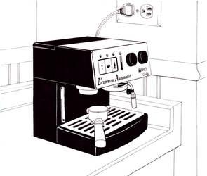 espresso machine by intelligencequotient