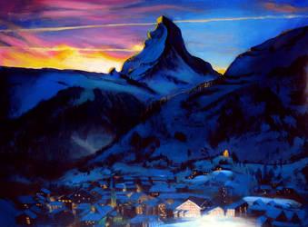 Matterhorn by intelligencequotient