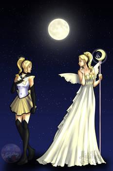 Chloe as Sailor Moon