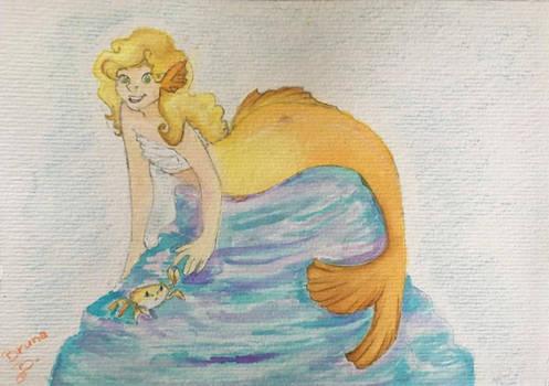Lina the mermaid