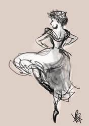Dancing by chorchori