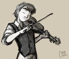 Alexander Rybak's sketch by chorchori